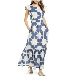 Anthropologie Seville Maxi Dress By The Odells